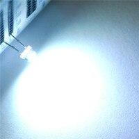 LED emitująca światło dioda słomkowy kapelusz 5 MM białe włosy białe światło (1000 sztuk) w Świecące koraliki od Lampy i oświetlenie na
