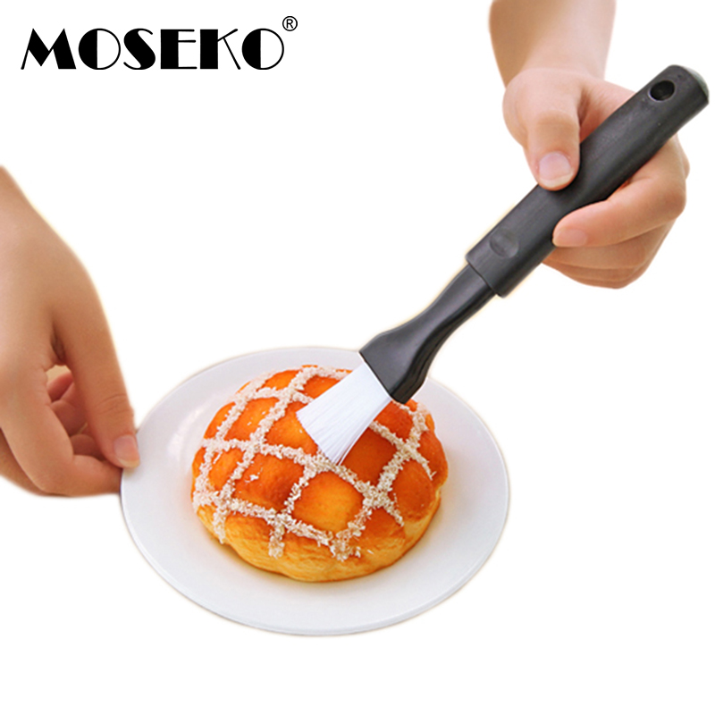 MOSEKO 2pcs/set Basting Brushes Olive Oil Pastry Brush Barbecue BBQ Brush Baking Tools Home Kitchen Dining Cake Accessories