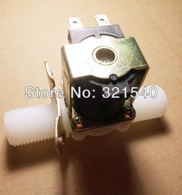 Normally Open 1/2BSPP Male 2Way Nylon Plastic Gravity Feed Solenoid Valve 6VDC Pilot Water Air Gas Heater Washer Garden 5 way pilot solenoid valve sy3420 5d 03