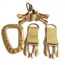 Buy 1 Pc Single Code HobbyLane Nylon Carabiner D-type Outdoor MOLLE Webbing Belt Keychain Buckle Strap Buckle Lock Travel Set directly from merchant!
