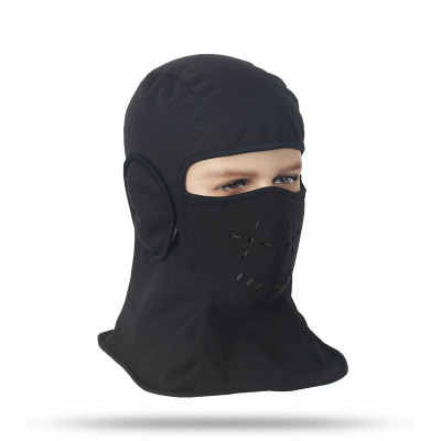 Outdoor Sepeda Ski Masker Cyling Beanies Musim Dingin Angin Stopper Wajah Topi Tahan Angin dan Tahan Dingin Berkuda Masker Cap Olahraga masker Wajah