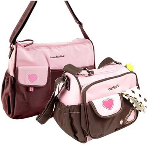 ФОТО Baby changing bag 2pcs/set New Multifunctional Baby Changing Bag For Mom Diaper Nappy Storage Bags Mummy Free Shipping