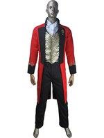 Дети Мальчики величайших шоумен P. t. барнум Рождественский карнавальный костюм подарок цирк маскарадный костюм для Хэллоуин на день рожден