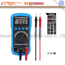 Bside ADM01 Auto Ranging Digital Multimeter DMM DC AC Voltage Current HZ Meter Frequency Tester Diode Continuity Test