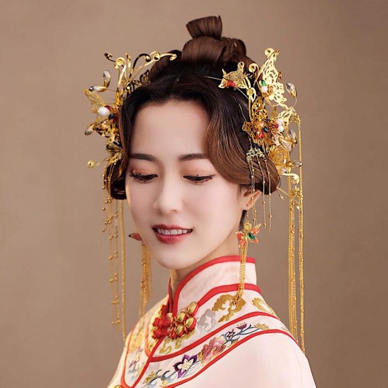 китайская прическа картинки