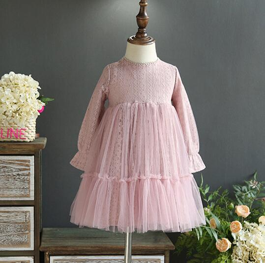 Lace Childrens Dresses Promotion-Shop for Promotional Lace ...
