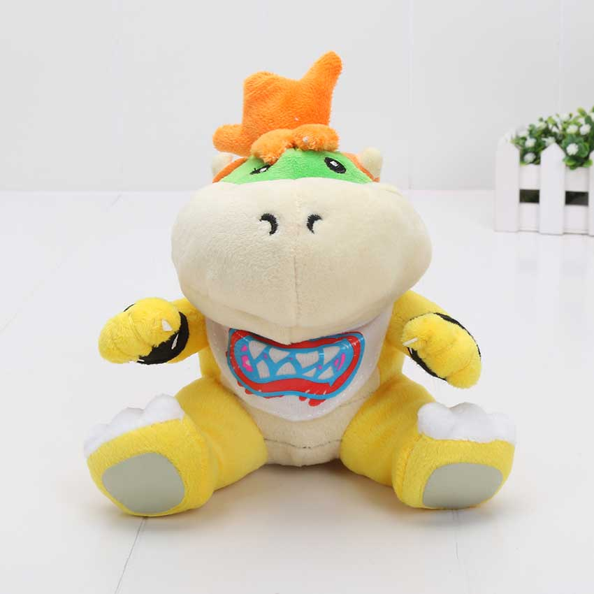 10pcs/set 7'' 18cm Game Super Mario Bros Plush Koopa Bowser dragon Soft Stuffed Plush Doll Toys For Gifts(China)