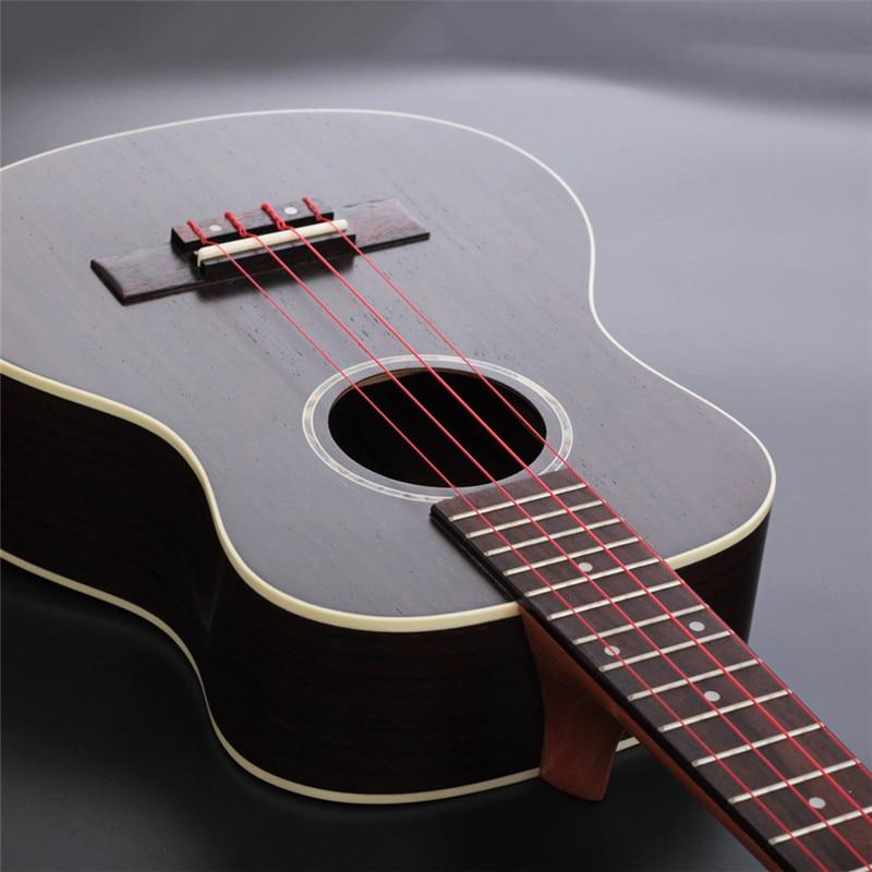 Longteam Ukulele Carbon Strings Fluorocarbon Fiber Strings For 21/ 23/ 26 Inches Of Guitar Ukulele Part
