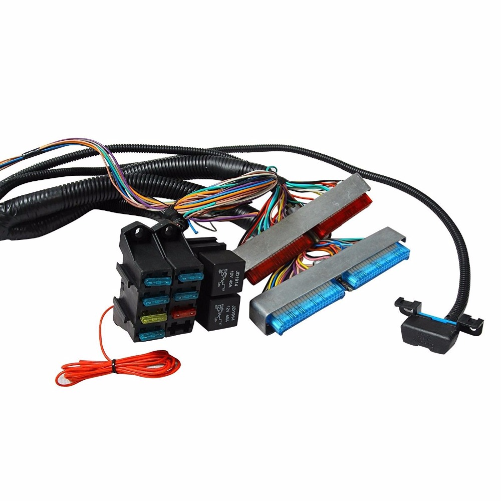 Ls1 Ls6 57l Ev1 24x Engine Standalone Ls Wiring Harness W 4l60e Coil Transmission 4l80e Optional In Cables Adapters Sockets From Automobiles Motorcycles
