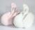 45 cm Swan Bonito Almofadas De Pelúcia Brinquedos de Pelúcia Do Bebê Brinquedo Macio Encantador algodão Cushons Assento de Carro para Crianças Decoração do Quarto da Criança Meninas Presentes 1 pcs