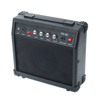 Hight Quality Portable Electric Guitar Speaker Amplifier Micro Speaker 20W With Portable Handle For Guitar Learners