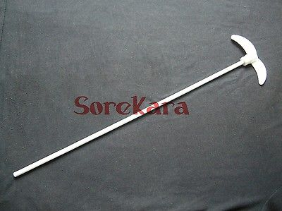 PTFE 450mm Stir Paddle Oar Dia 100mm Teflon Stirrer Stirring Blade