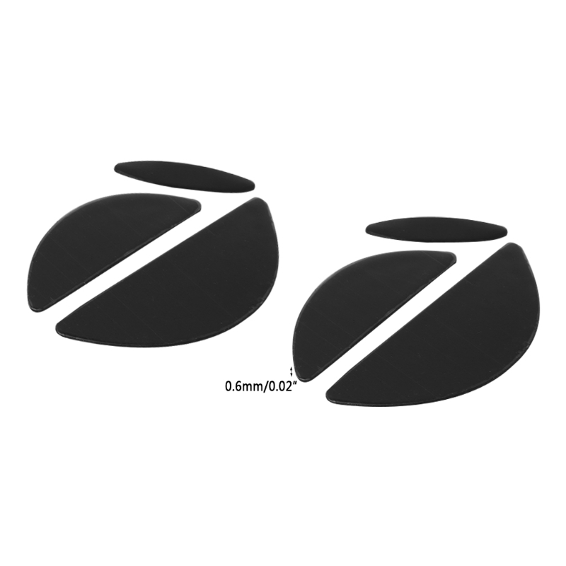 Computer & Office Noenname_null 2 Sets/pack 0.6mm Mouse Feet Mouse Skates For Logitech Mx518 /g400 /g400s Mouse