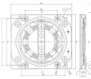 Image 4 - Heavy duty obrotowy z 4 way siedzenia samochodowe gramofony data data powrotu (RV krzesło obrotowa podstawa Mpv siedzenia podstawka obrotowa