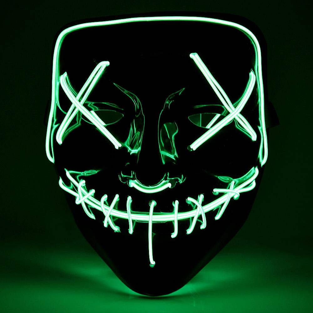 Неоновые маски во Владивостоке