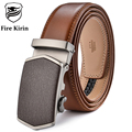 FIRE KIRIN Luxury Belt Men 2017 Male Leather Belts Designer Belts Men High Quality Business Strap Ceinture Homme Luxe Marque B54