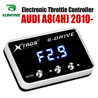 Car Electronic Throttle Controller Racing Accelerator Potent Booster For AUDI A8(4H) 2010-2019 Tuning Parts Accessory