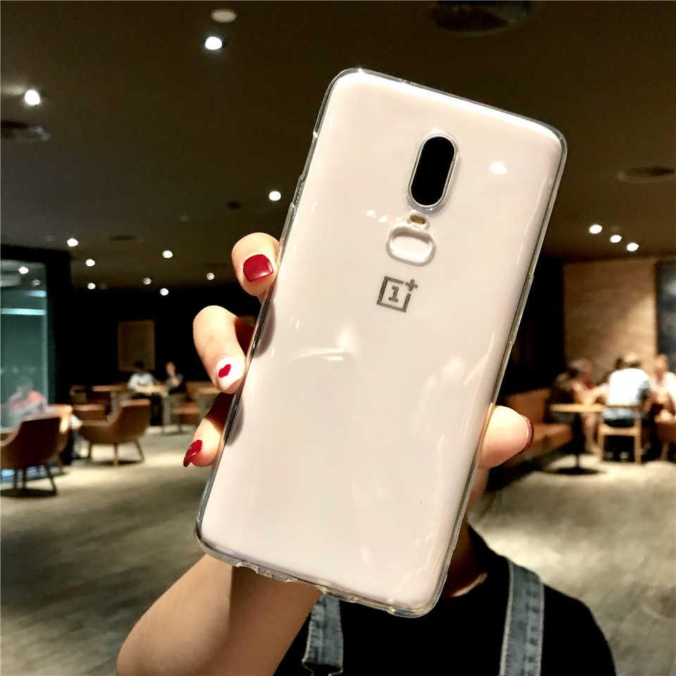 الترا سليم شفافة سيليكون TPU حالة ل OnePlus 6 6 T 7 5 T 5 3 T LG G5 G6 g7 Q6 Q7 Q8 V10 V20 V30 V40 غطاء لينة الهاتف حالات