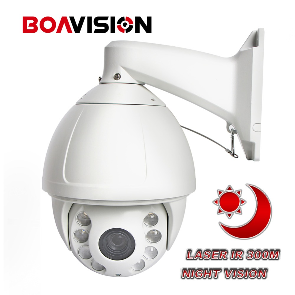 7 Inch PTZ IP Camera 5MP 1080P 30X Laser IR 300M Night Vision Waterpoorf High Speed ONVIF Dome Outdoor Security CCTV Camera PTZ 4 in 1 ir high speed dome camera ahd tvi cvi cvbs 1080p output ir night vision 150m ptz dome camera with wiper