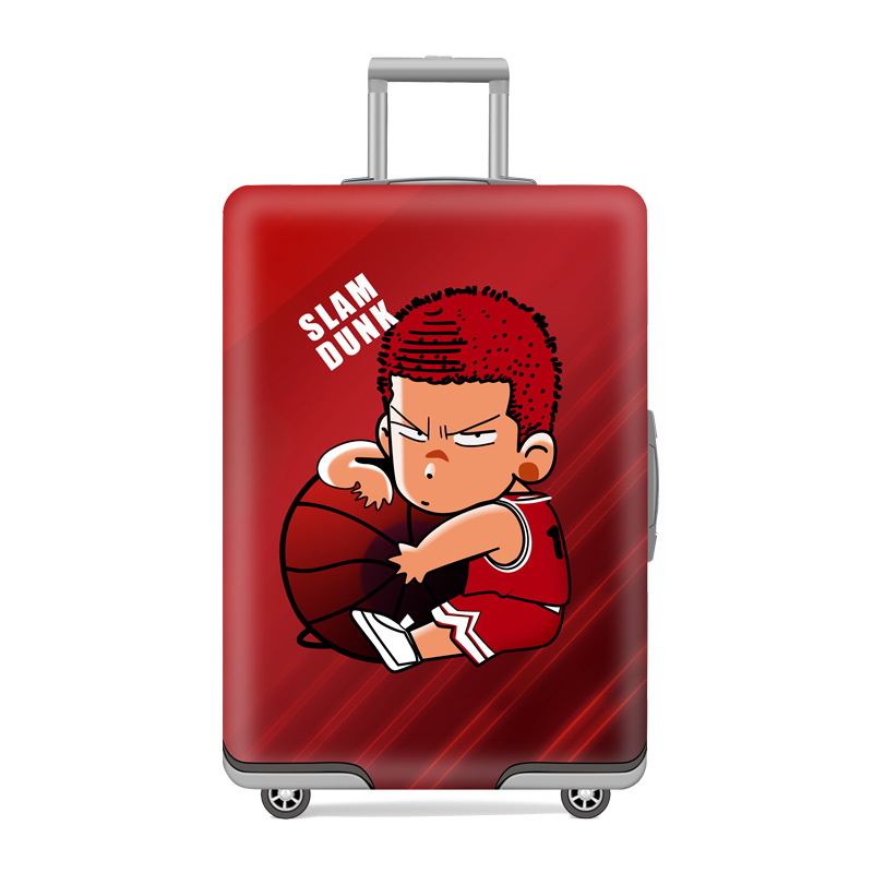 Qehiie brand suitcase protective cover cartoon children suitcase 18 32 inch protective cover for Travel gear brand