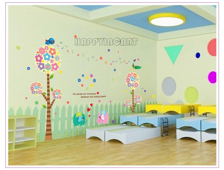 Diy Classroom Wall Decor ~ Removable children s living room bedroom classroom