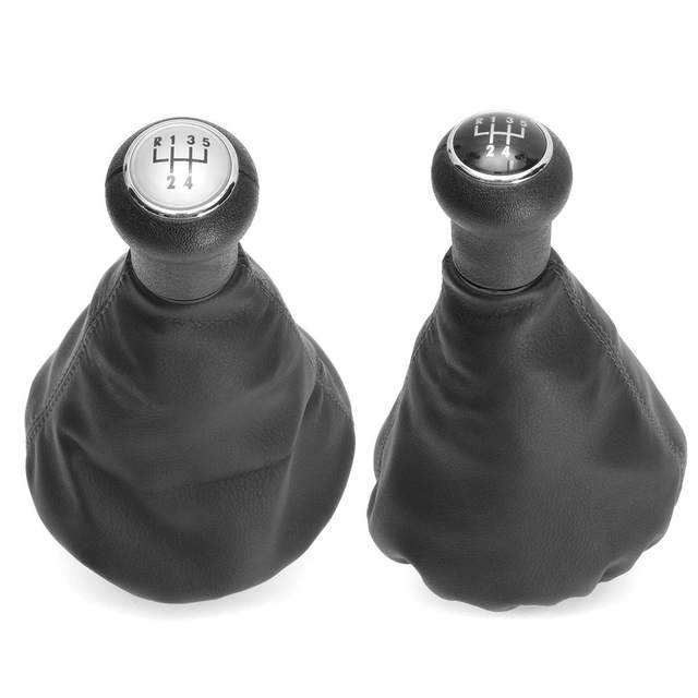 5 Speed Car Gear Shift Knob Collar Leather Gaitor Boot Cover For VW Golf 3 MK3 Vento 1992 1993 1997 1995 1996 1997 1998