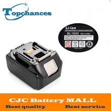 Brand NEW 3000mAh 18 VOLT Li Ion Power Tool Battery for Makita BL1830 Bl1815 194230 4