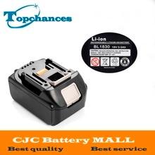 Brand NEW 3000mAh 18 VOLT Li-Ion Power Tool Battery for Makita BL1830 Bl1815 194230-4 LXT400
