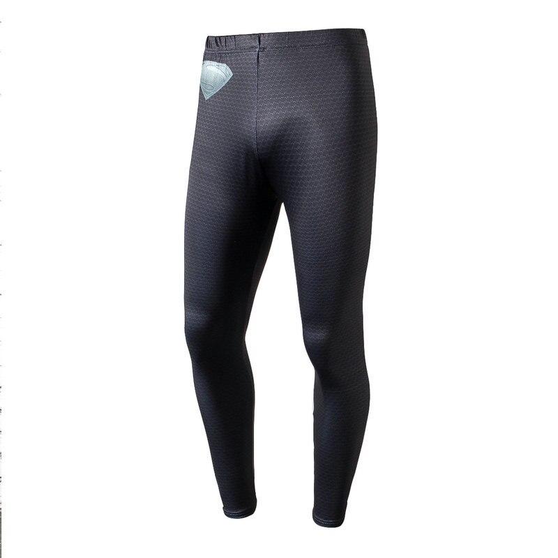 3D prints Compression Pants Gym Bodybuilding Sport Trousers Fitness Tight Sportswear Leggings Running Pants Men