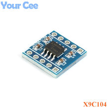 X9C104 Digital Potentiometer Module For Arduino Board Module Programmable Resistor to Adjust the Bridge Balance(China)