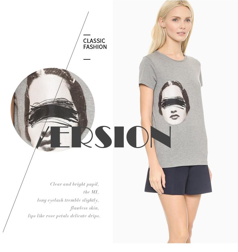женская футболка с изображением фото