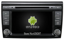S160 Android 4.4.4 CAR GPS DVD player FOR FIAT BRAVO car audio stereo Multimedia GPS Quad-Core