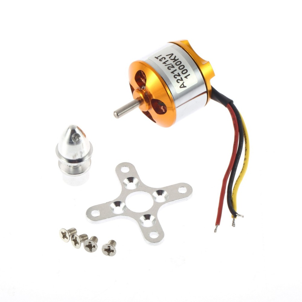 free shipping!!  A2212 KV930 KV1000 KV1400 KV2200 Brushless Outrunner Motor 30A ESC for RC Aircraft QuadCopter UFO 4pcs 6215 170kv brushless outrunner motor with hv 80a esc 2055 propeller for rc aircraft plane multi copter