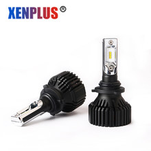 2Pcs HB4/9006 Car LED headlight H7 H11 H13 H10 9004 9005/HB3 9007 5202 Auto Bulbs 12v 8000LM 6500K Super Bright Easy to install(China)