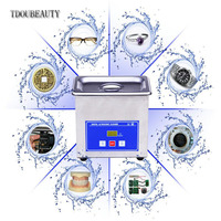 Digital Ultrasonic Cleaner Stainless Steel Model PS 06A CE New Dental Scaler Washer