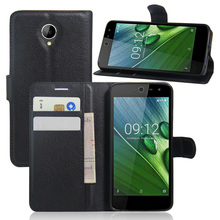 Coque For Acer Liquid Zest 4G Z528 Wallet Case Cover PU Leather Case For Acer Liquid Zest z525 Magnetic Filp Cover Holder Stand