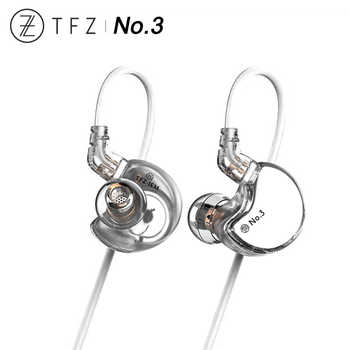 TFZ No.3 Third Generation Unit HiFi In-ear Monitor Earphone Double Cavity Dynamic Driver IEM with 2pin/0.78mm Detachable Cable - DISCOUNT ITEM  0% OFF All Category