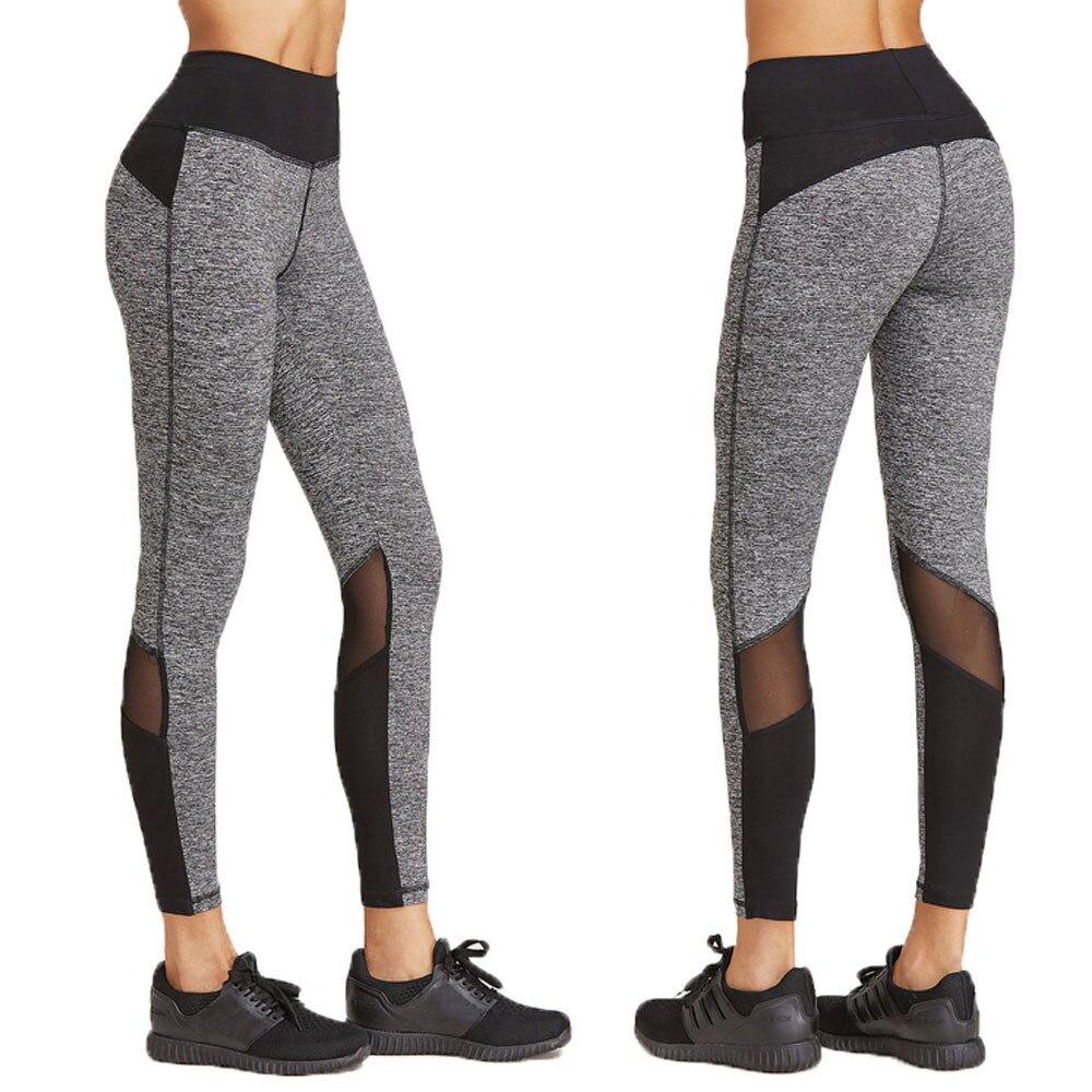 Yoga Pants Running Tights Women Sports Leggings Fitness Women Exercise Leggings -3319