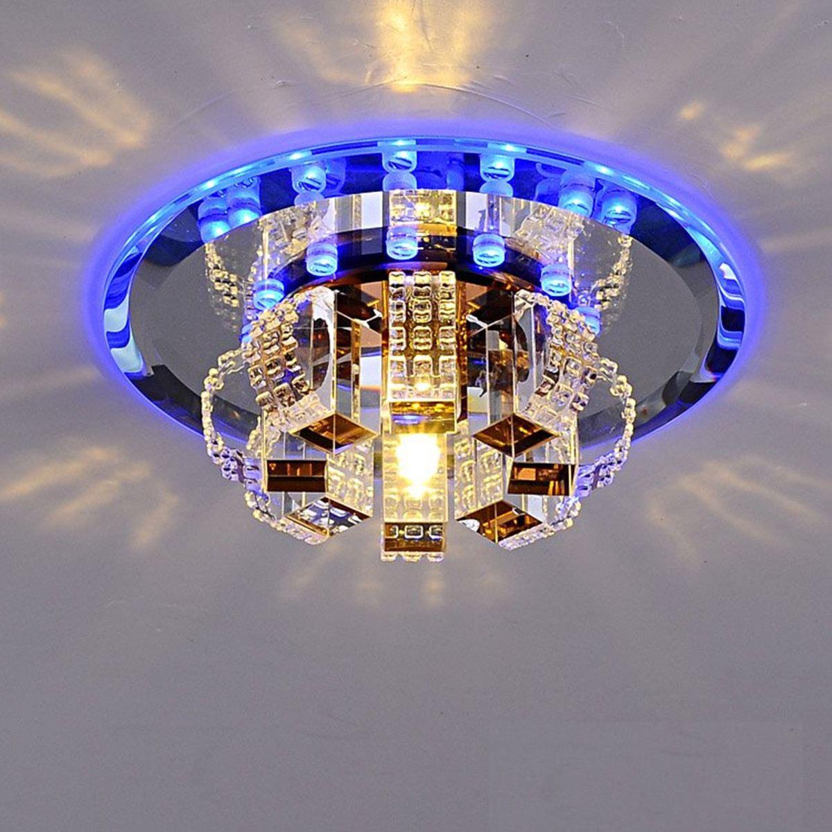 3W Modern Crystal LED Ceiling Light Fixture Home Decor AC220-240V