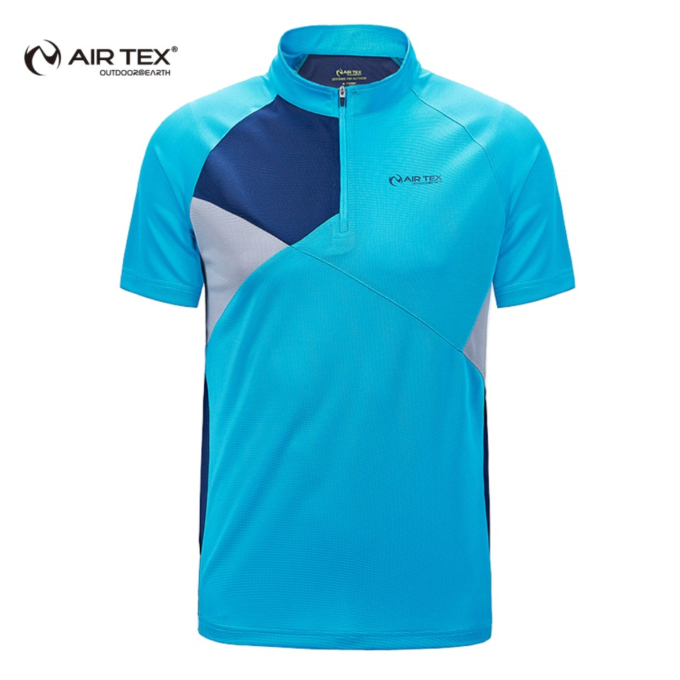 T-shirt design quick - Air Tex Spring And Summer Casual Fashion Collar Collar Quick Dry T Shirt Male Short Sleeve