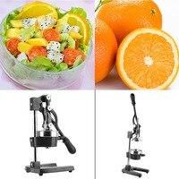 Heavy Cast Iron And Rubber Handle Hand Press Citrus Fruit Lemon Juicer Juice Squeezer Commercial Manual