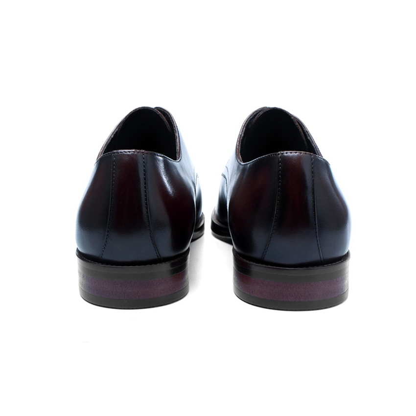 Los Vestido Formal chocolate Pie Diseñador Cuadrado Moda Calzado Mano Hombres Zapatos Dedo Welted Boda Cuero Hombre Negro De Bql180 Hecho Derby Del Genuino A qwIgUnTxw