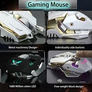 Image 2 - G9 برمجة الماكرو المهنية السلكية الألعاب Mause 3200 ديسيبل متوحد الخواص قابل للتعديل 7 أزرار USB بصري ألعاب ماوس الفئران ل جهاز كمبيوتر شخصي