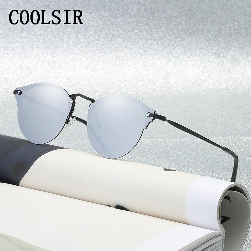 2018 nieuwe collectie hete verkoop half-frame zonnebril retro - Kledingaccessoires