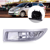 CITALL 312 2020L AF 81220 AE010 Left Front Fog Lamp Light with Bulb fit for Toyota Sienna 2004 2005 LHD ONLY
