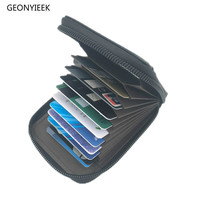 2018 Mens/Womens Fashion Mini Leather Zipper Female Wallet Pillow ID Credit Cards Holder Case Organizer Purse Top Quality Women Wallets