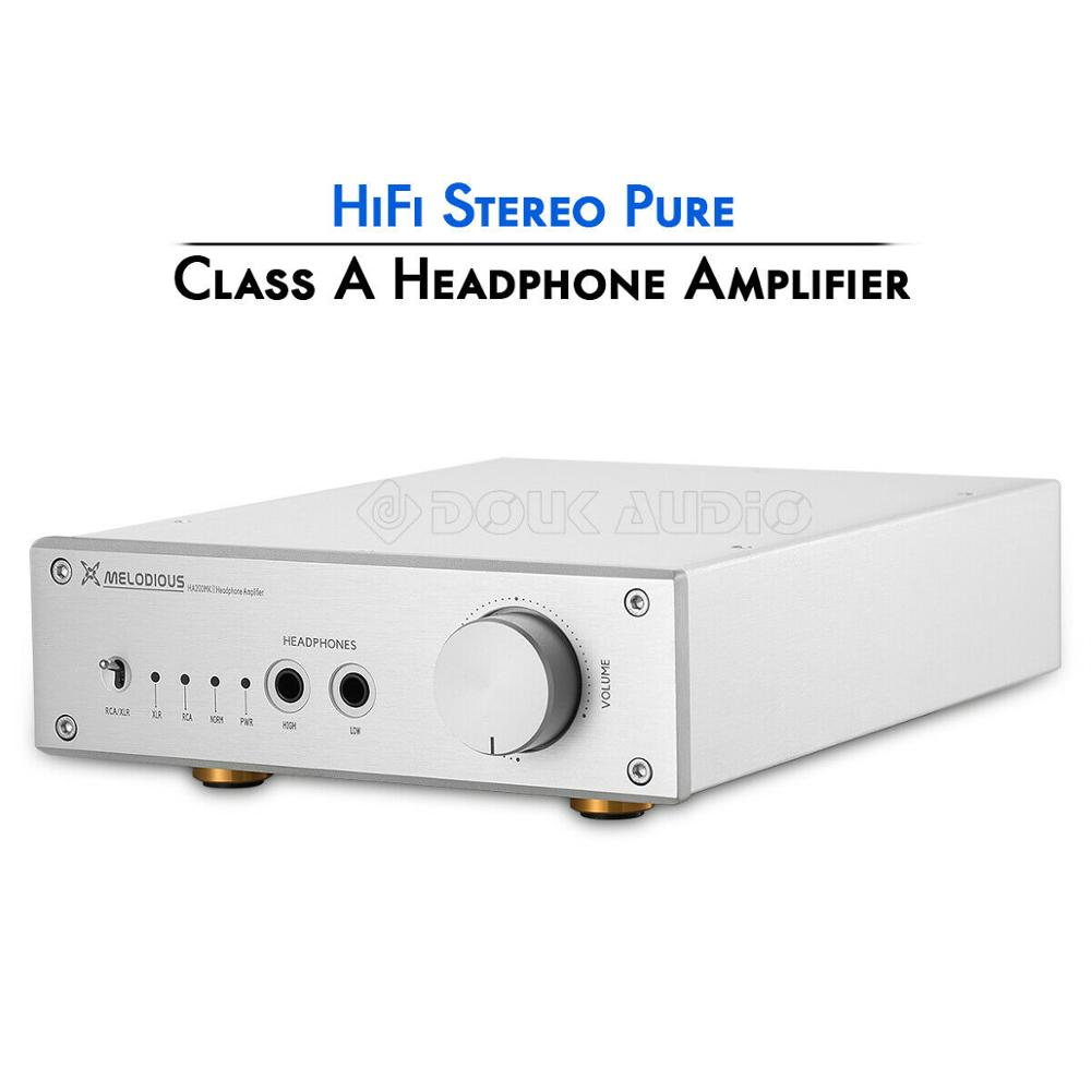 2019 Latest Nobsound HiFi Pure Class A Headphone Amplifier Balanced Home Audio Stereo RCA XLR Amp