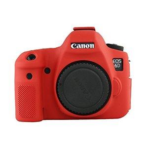 Image 3 - Silikon Rüstung Haut Fall Körper Abdeckung Protector für Canon EOS 6D Körper DSLR Kamera NUR