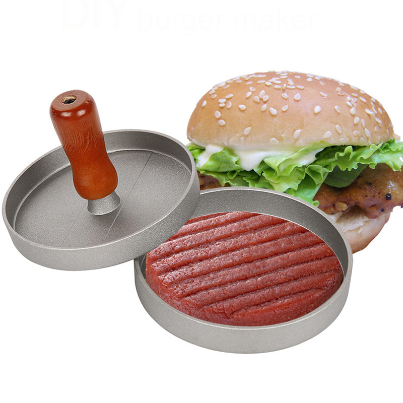 Hot Sell Hamburger Presses Patties Maker Kitchen Tools Hamburger Grill Plate Meat And Poultry Tools