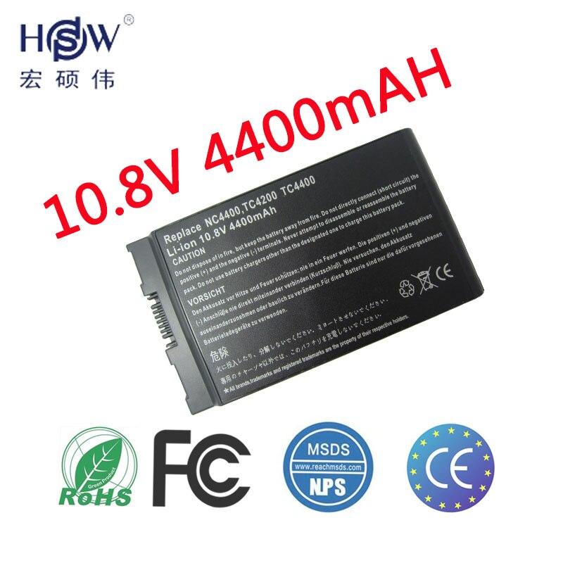 HSW 6cells battery for HP Compaq Business Notebook 4200 NC4200 NC4400 TC4200 TC4400 HSTNN-IB12,HSTNN-UB12,PB991A bateria akku